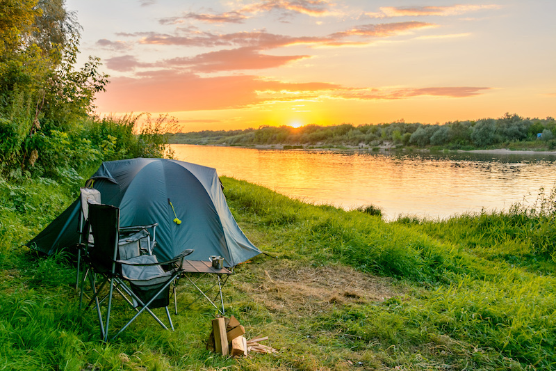 Check liste avant de partir faire du camping sauvage