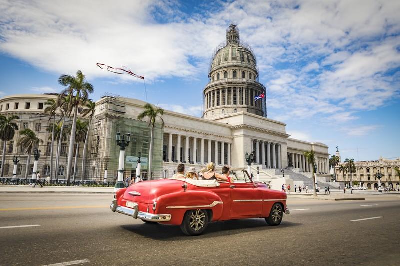 Cuba : vol pas cher sur internet